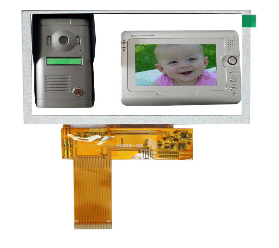 5 Inch TFT LCD Display Module Resistive Touch Panel 800 RGB H ×480 V Mm